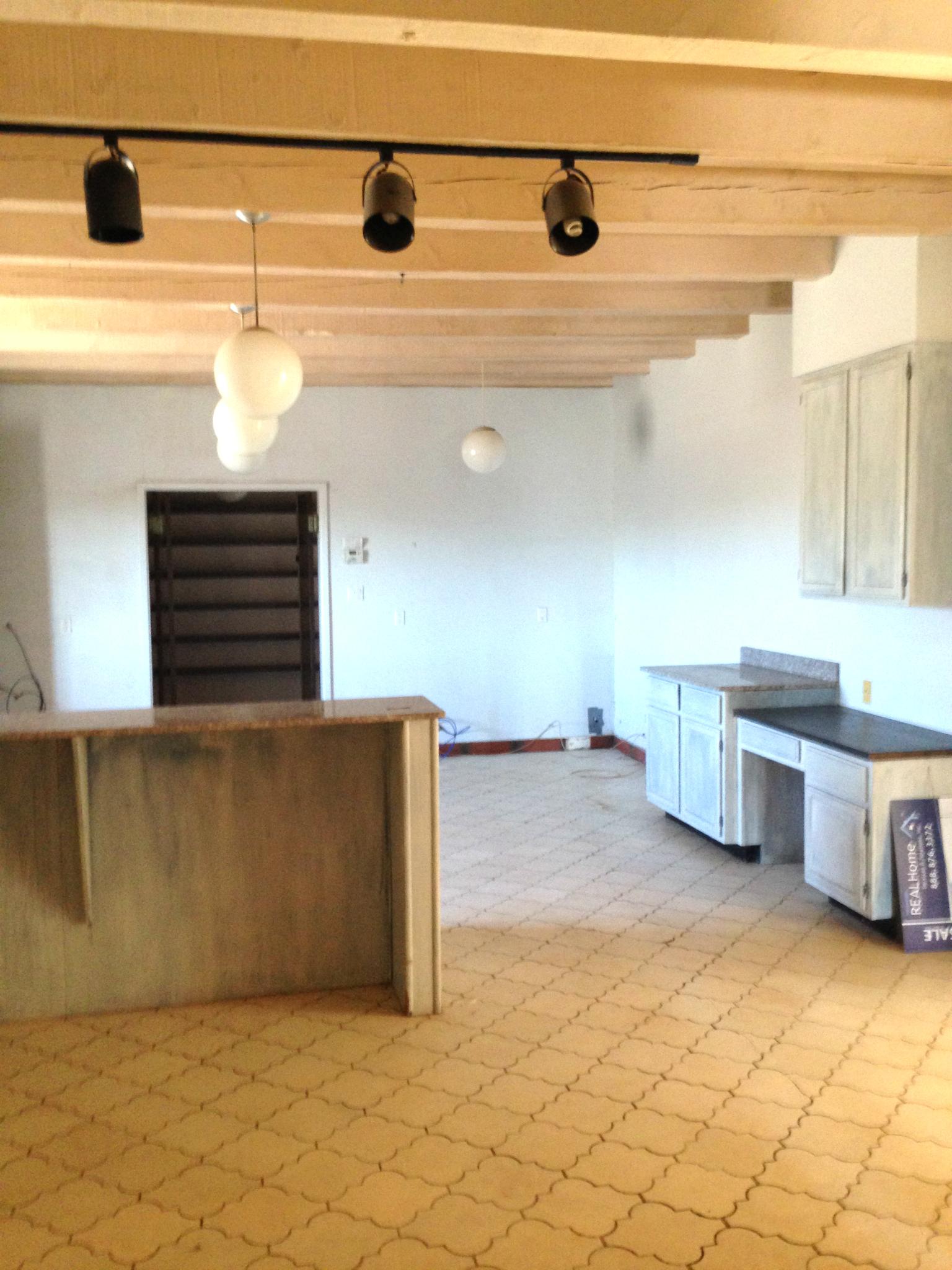 A New Mexico Farmhouse Entryway: Before the Renovation