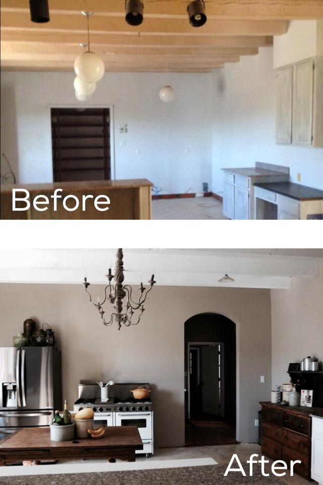 A New Mexico Farmhouse: Before and After