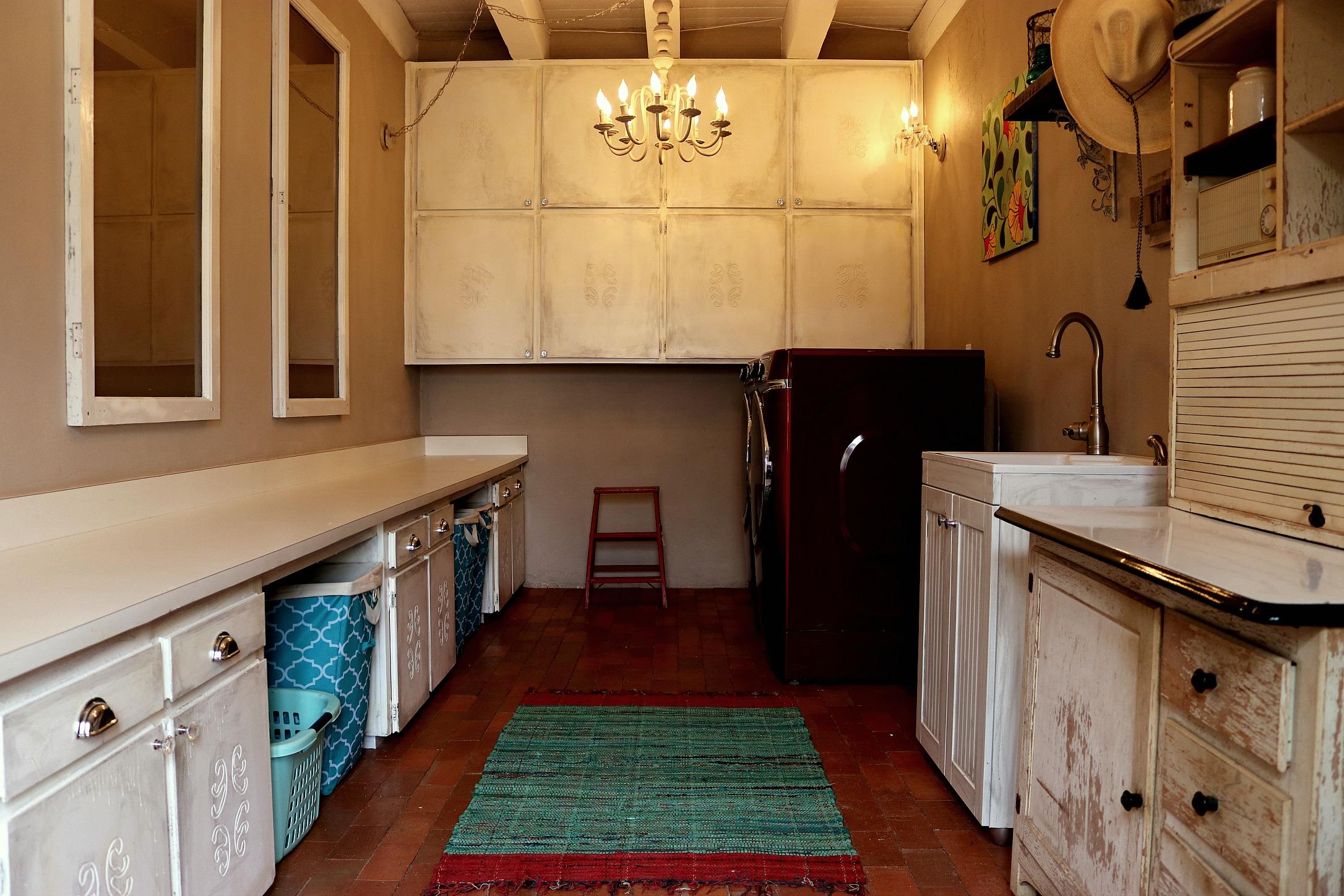 The Finished Laundry Room- shelbyathome.com