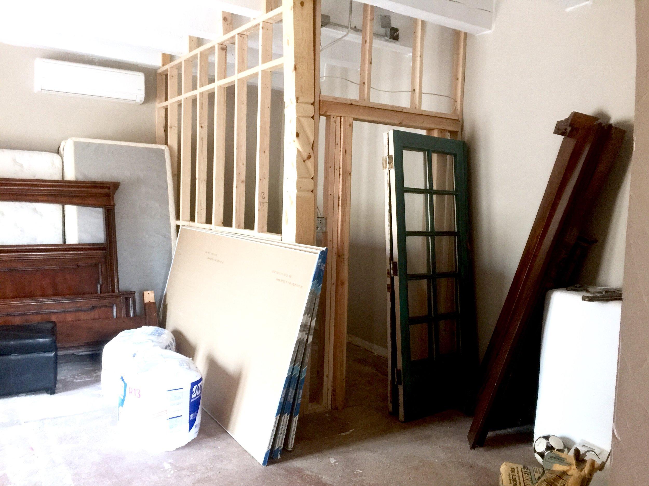 Master bedroom remodel at shelbyathome.com