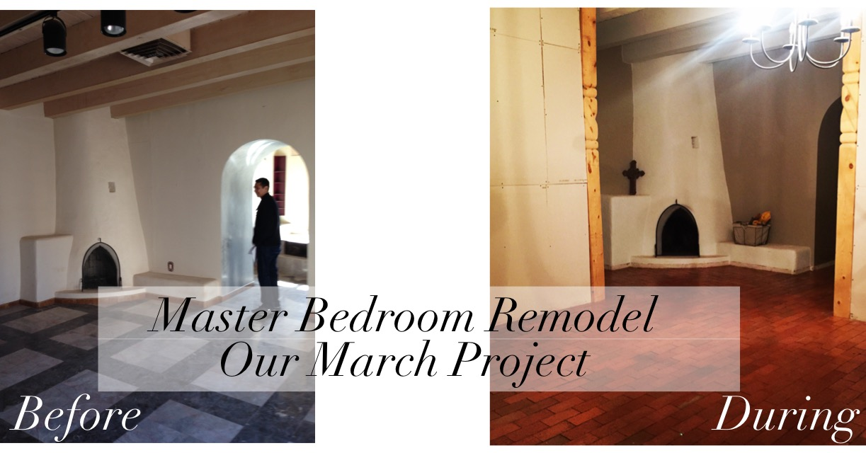 A Master Bedroom Remodel- Our March Project- shelbyathome.com