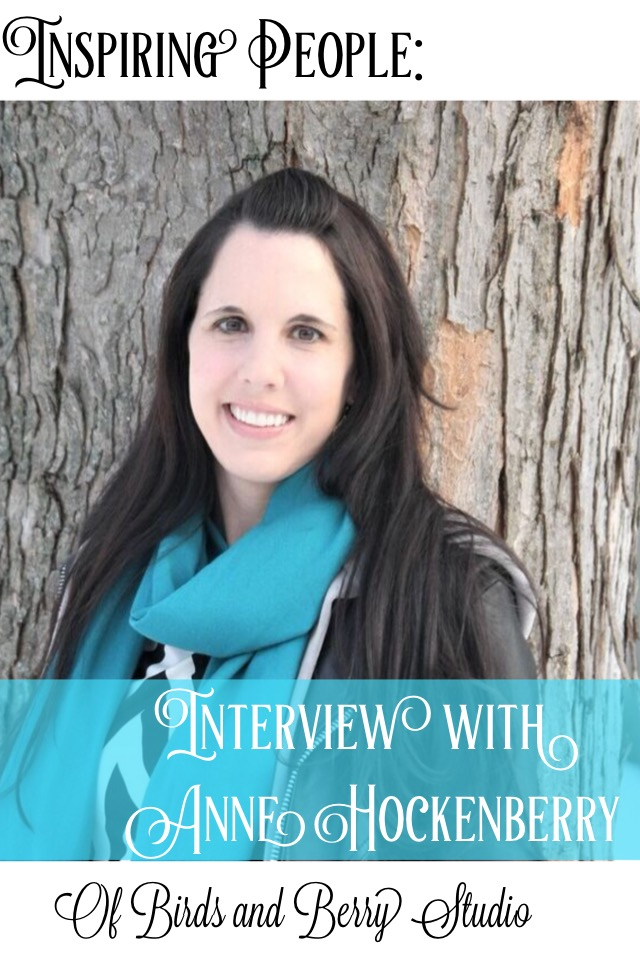 Inspiring People interview of Anne Hockenberry at shelbyathome.com
