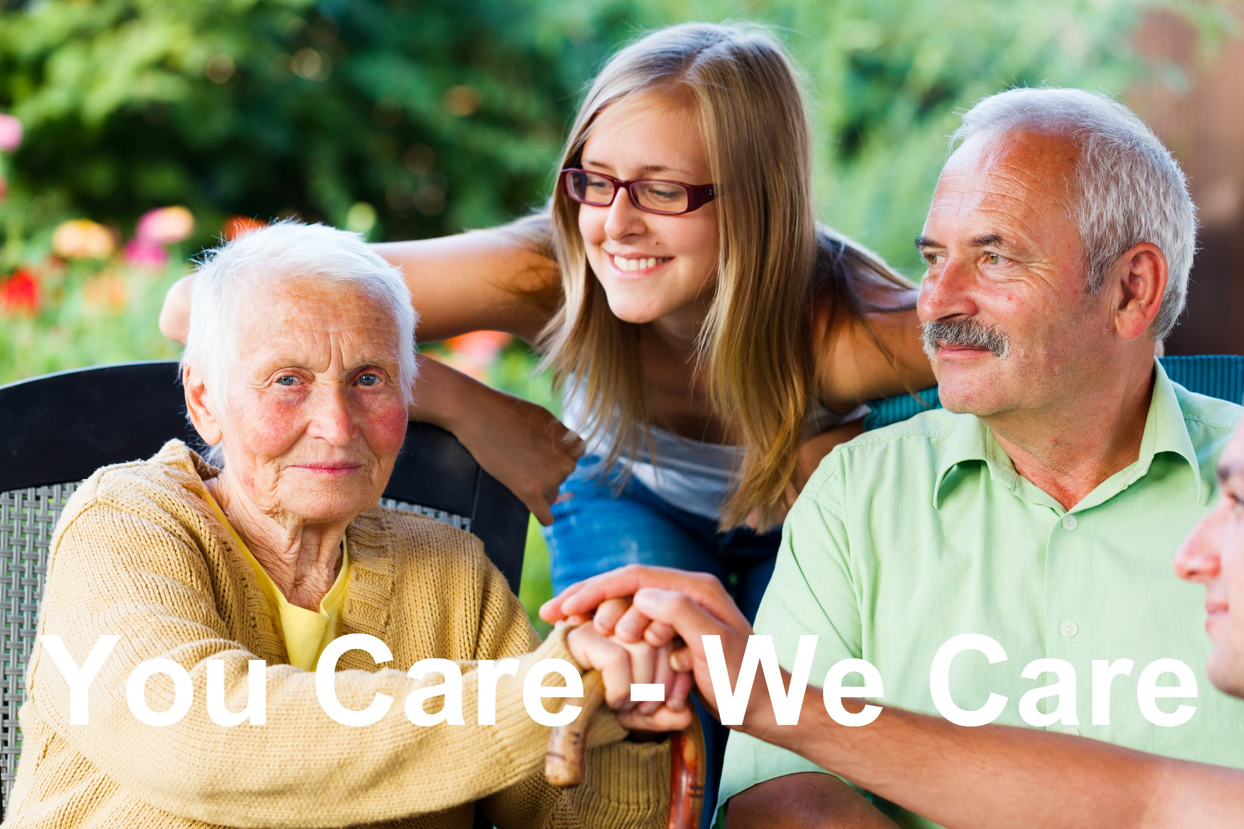 We provide information to support people moving into aged care  -