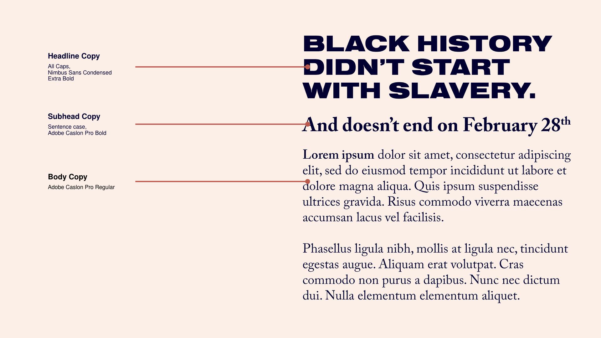 Black History Month 2019 — Bria Benjamin