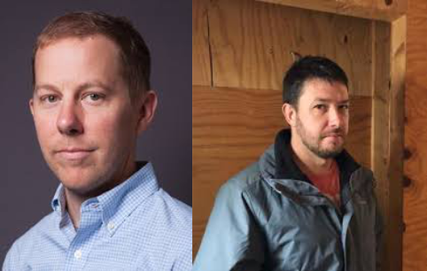(left) Jared Nelson - Asst Prof of Mechanical Engineering @ SUNY New Paltz  (right) Steve Halton - CEO of CNY Hemp Processing Inc.