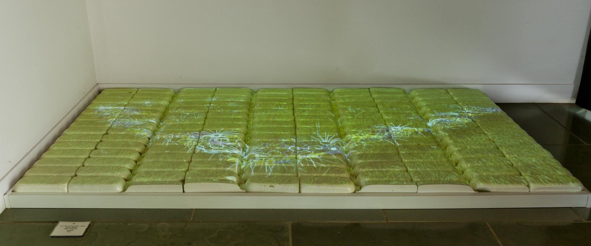 installation view, Yering Station Sculpture Exhibition, 2011