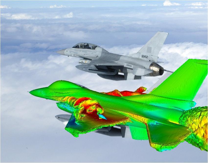 F16 CFD