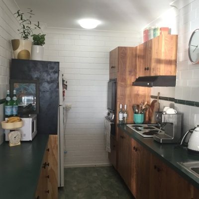 My kitchen, aka Morgan & Meg HQ (i.e where the magic happens)