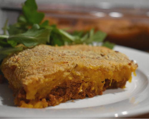 Blog graphic 500 x 400 Turkey pumpkin pasta bake feature image.png