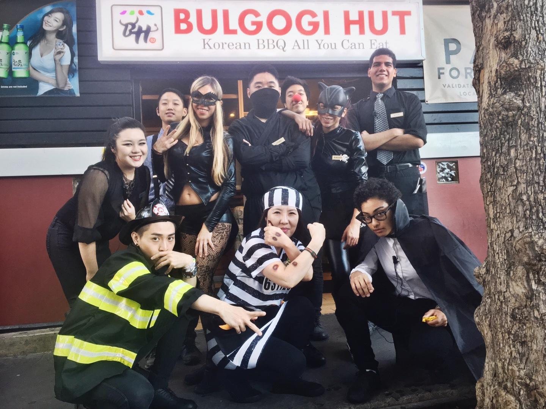Bulgogi Hut Halloween Party
