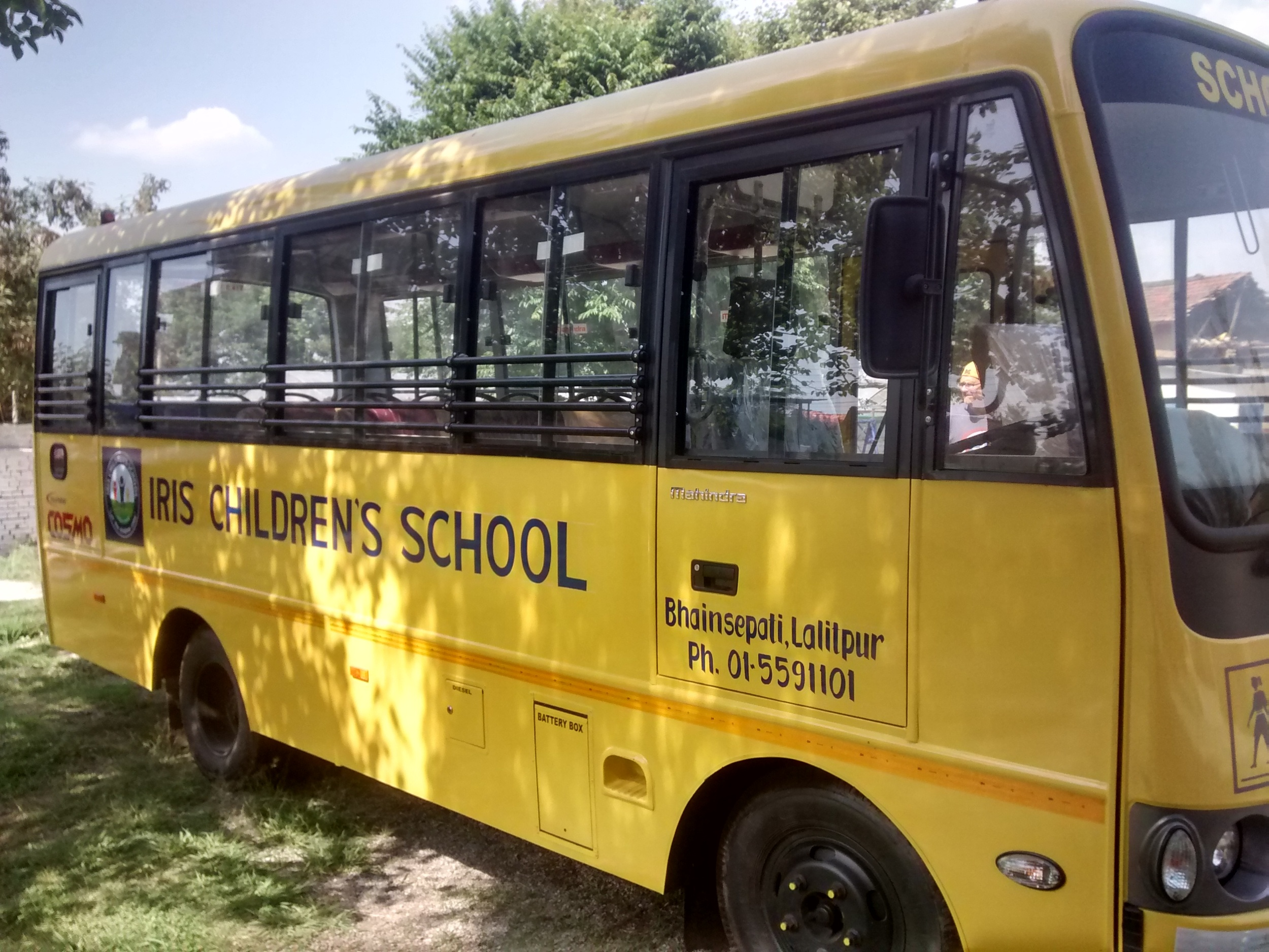 This year God provided the funds to purchase a school bus!