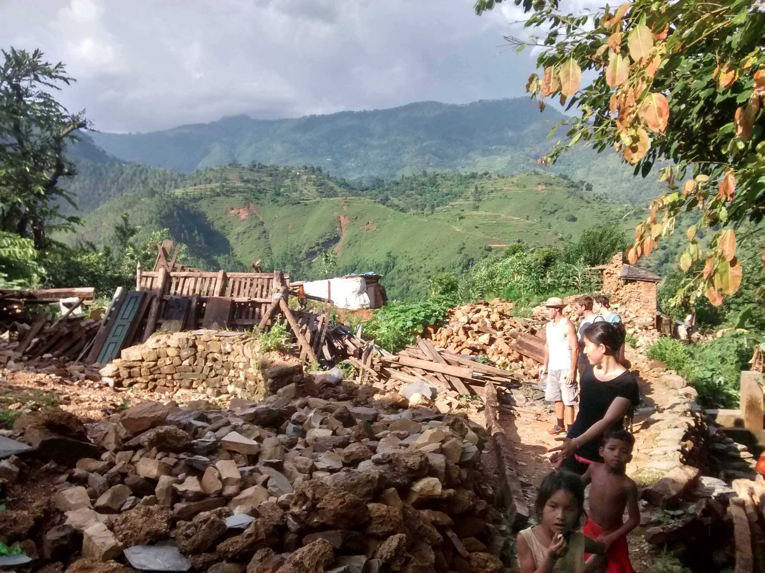 During the last few months we have transitioned out of the village in Dhading that we were serving following the earthquake.