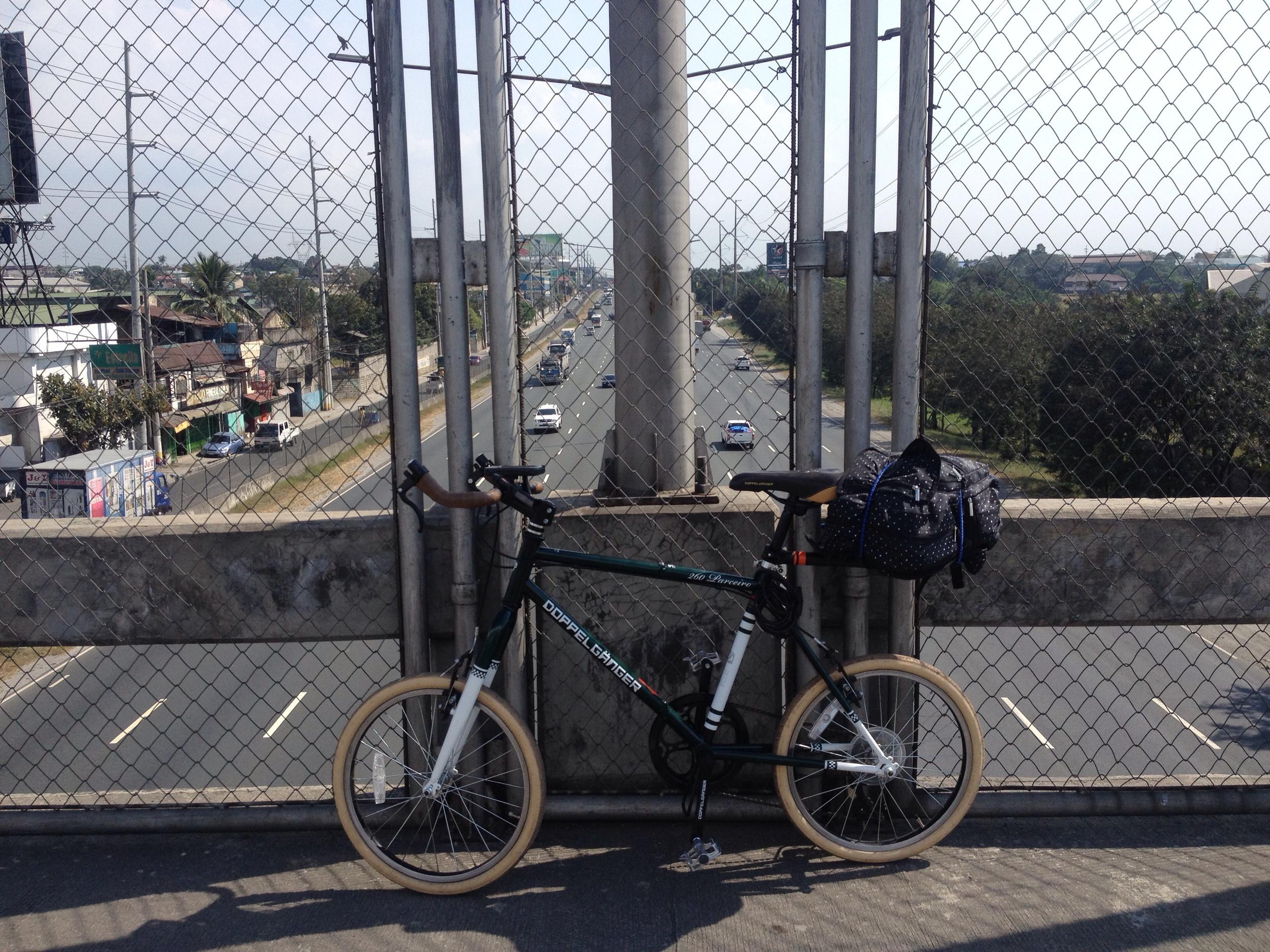 Crossing NLEX