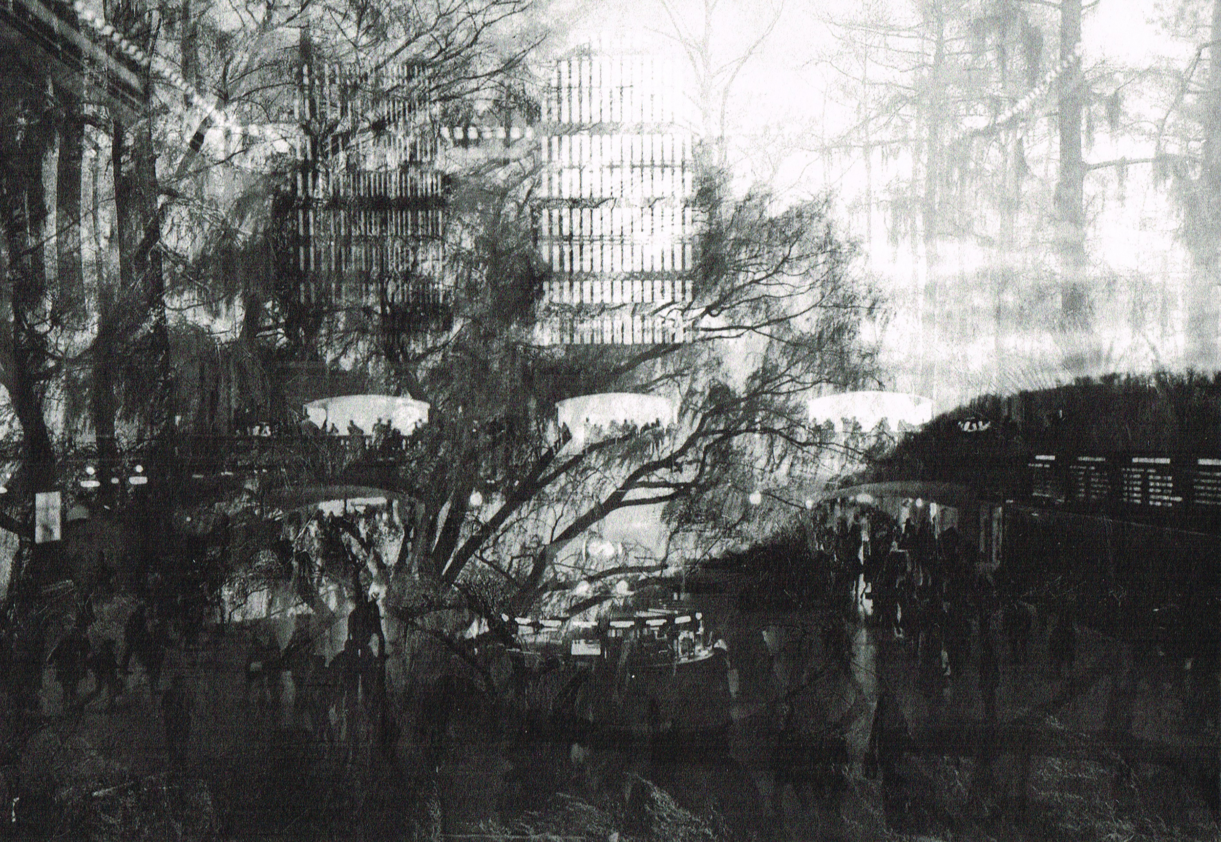 Photogravure Grand Central Cold Spring