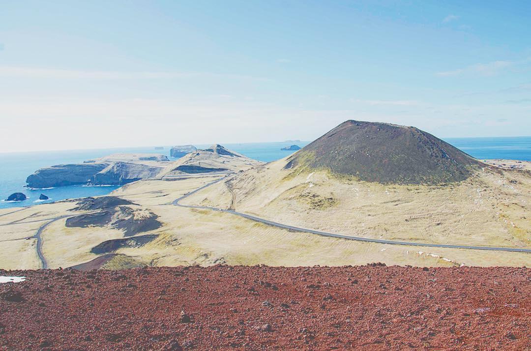 Eldfell Volcano, Vestmannaeyjar, Iceland