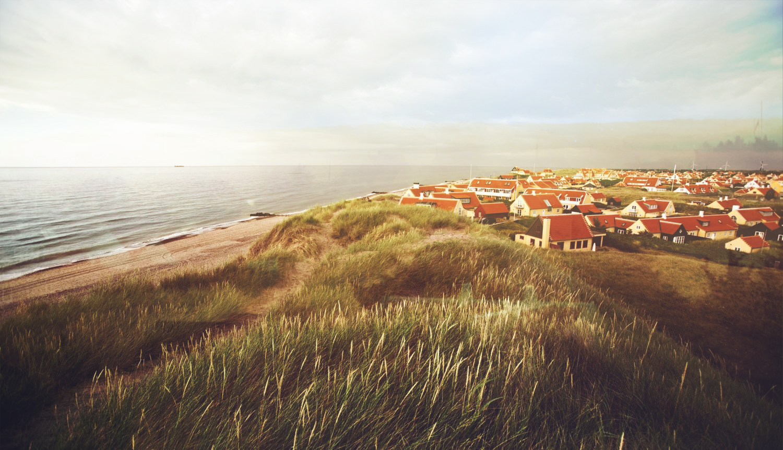 Skagen: a tourist town