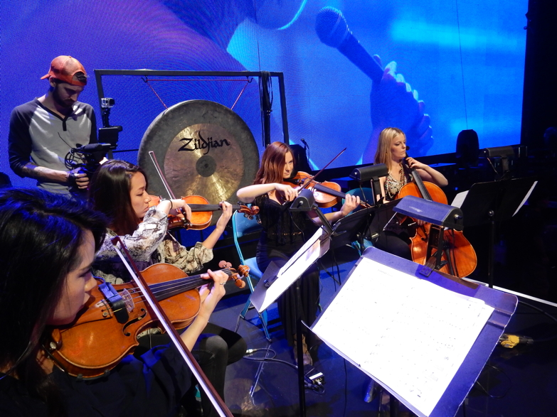 Rehearsal with X Japan at Madison Square Garden  October 2014  · N ew York City