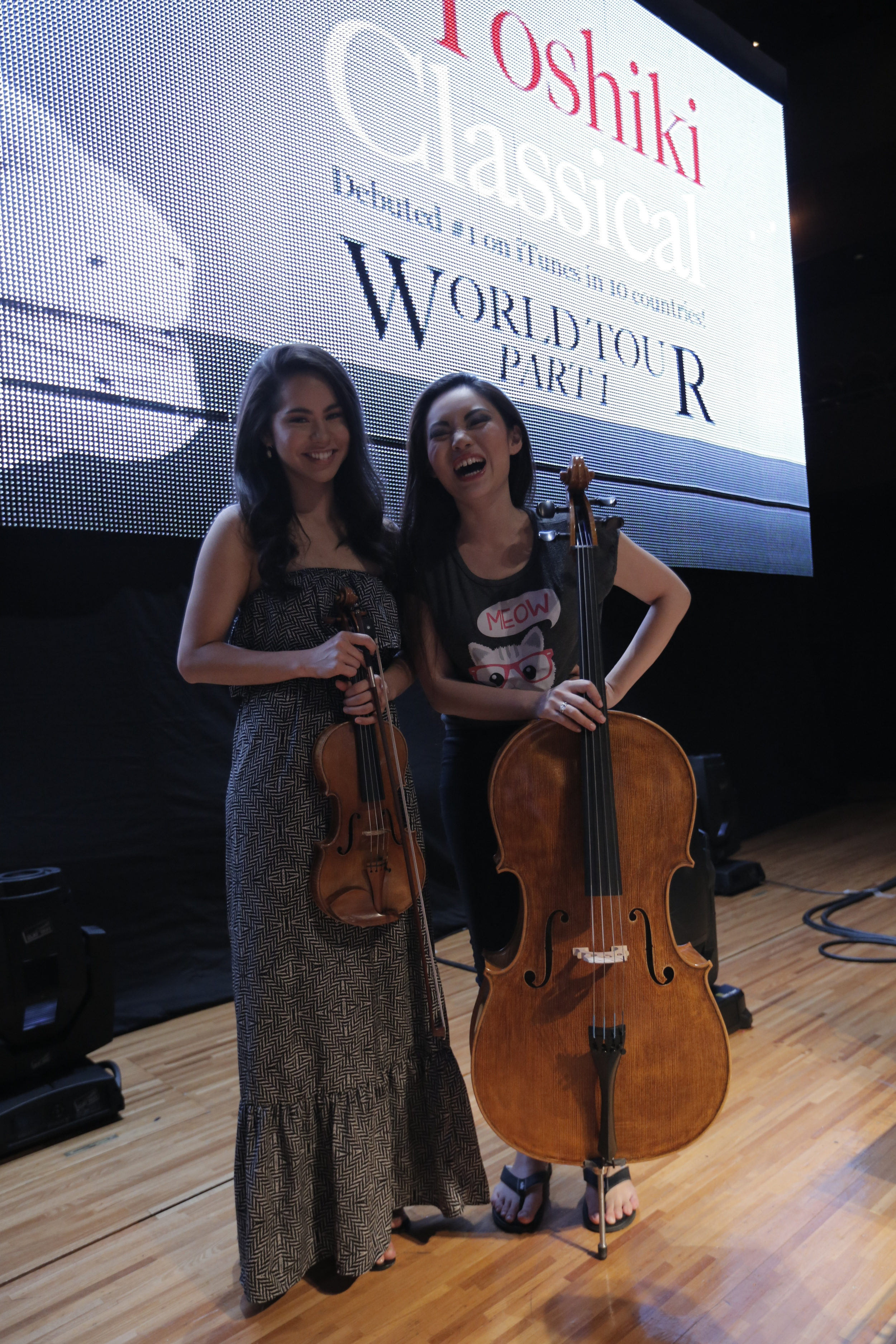 Post rehearsal for Yoshiki Classical World Tour  J une 2014  · Osaka, Japan