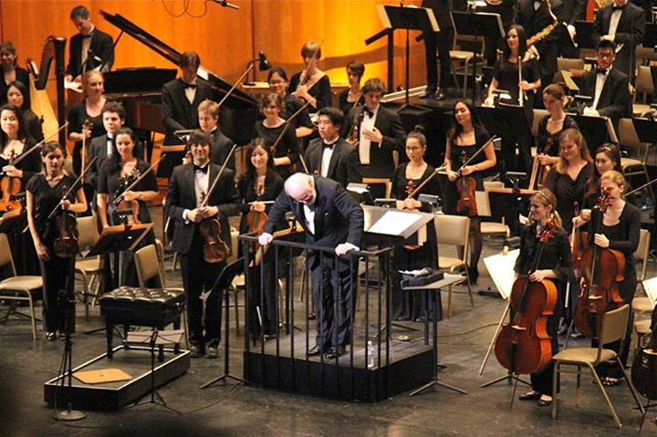 YMF Orchestra concert with John Williams  January 2013  · Los Angeles, CA