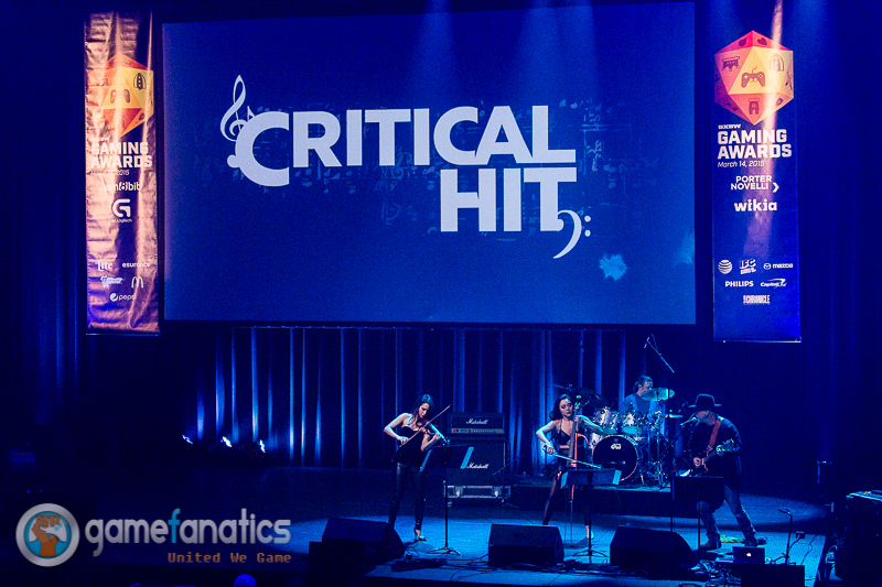 Performing with Critical Hit at SXSW   March 2015  · Austin, TX