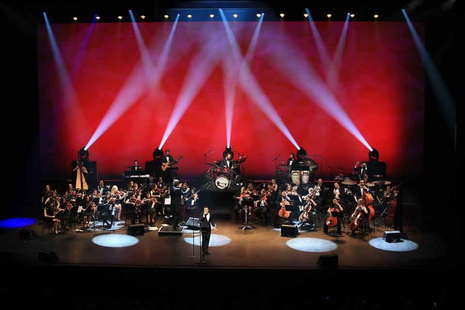 Performing as concertmaster for Shahkar Bineshpajooh live concert at Dolby Theatre  March 2015  · Los Angeles, CA
