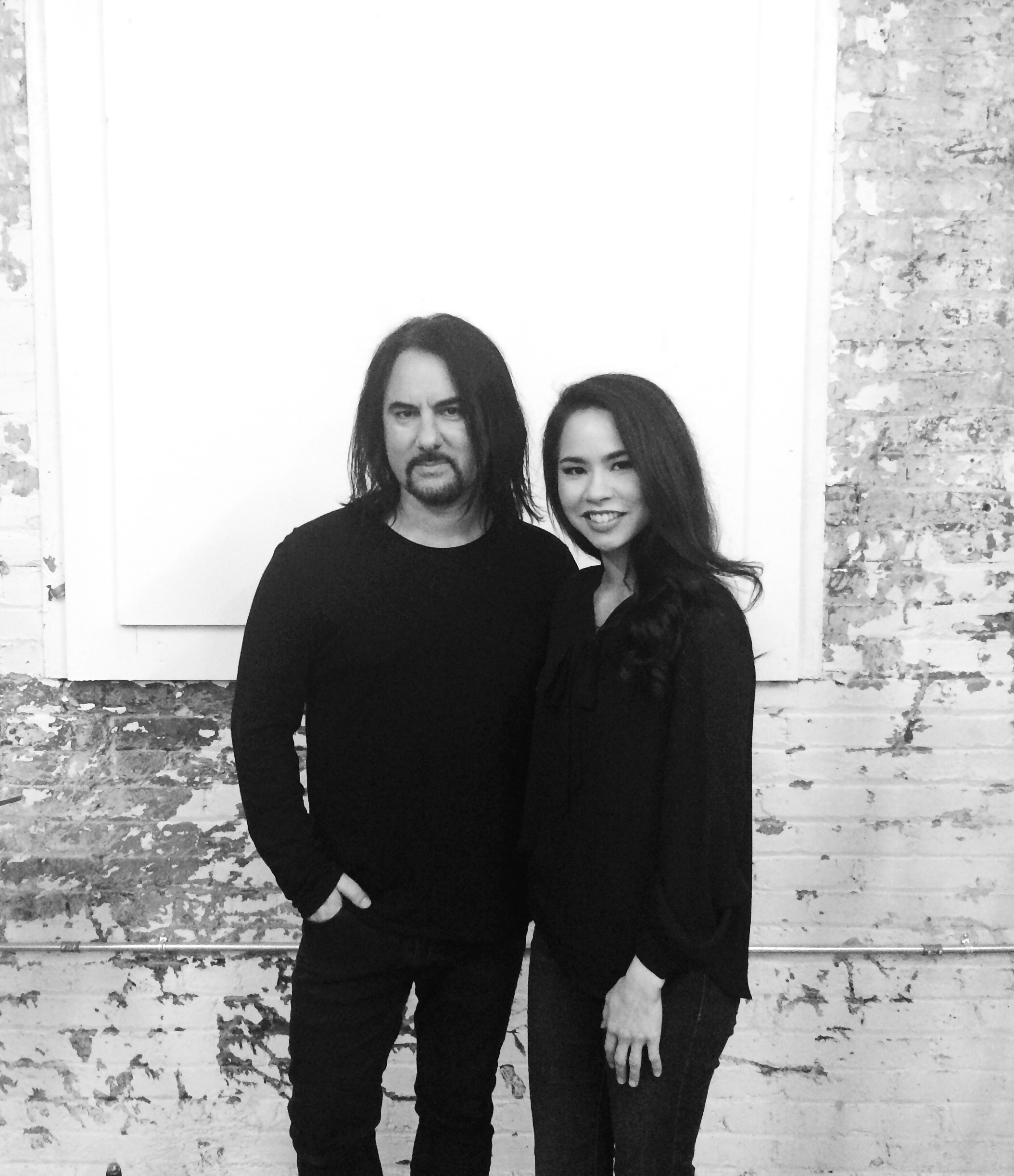 """Post-video shoot for """"7"""" with Leo-Z  January 2016  · Downtown Los Angeles"""