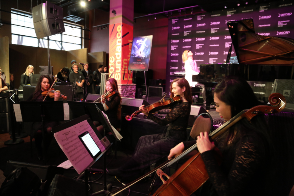 Performing with Yoshiki at ASCAP Music Café at the Sundance Film Festival  January 2016  · Park City, UT  Photo by Erik Philbrook