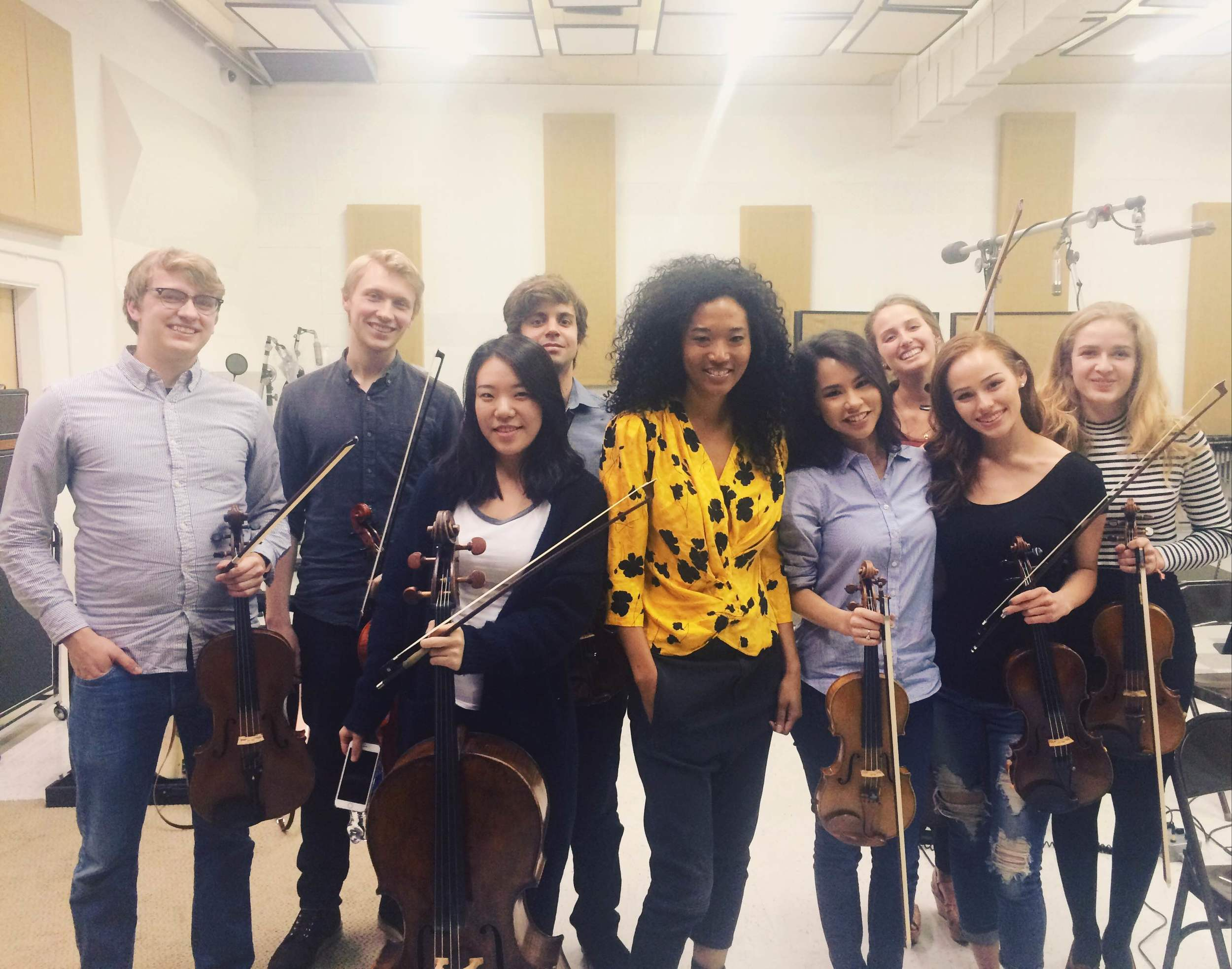 Post-recording session for singer Judith Hill  March 2016  · Van Nuys, CA