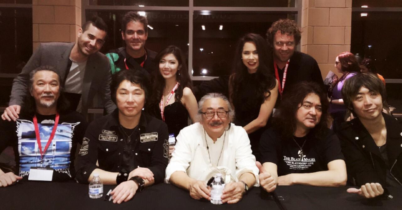 Critical Hit with Nobuo Uematsu & the Earthbound Papas at Naka-Kon  March 2016  · Overland Park, KS