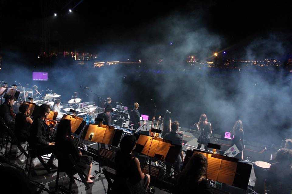 Performing with Hans Zimmer Live at Coachella  April 2017  · Indio, CA