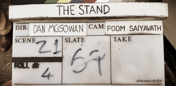 The final clapperboard...