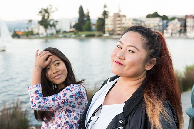 There are a lot of temples here. Especially the Asian people, they still kept their culture. We're Nepali Bhutanese Americans, and we won't let our culture die. Lake Merritt is a beautiful place to walk around. There are temples and churches. There's also a rose garden! --Sangita and Smriti #BeautifulOakland #Oakland #LakeMerritt