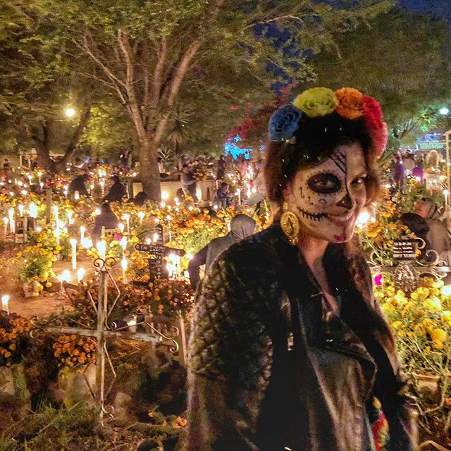 Experiencing the Day of the Dead in Oaxaca is one of the most moving experiences we have ever been a part of around the world. The relationship Mexican people have with death during this time is so powerful and moving, ultimately a celebration of life and a joyful party remembering the time spent with the departed. It's truly beautiful to see death portrayed in that way. ❤️ www.jetawayguru.com