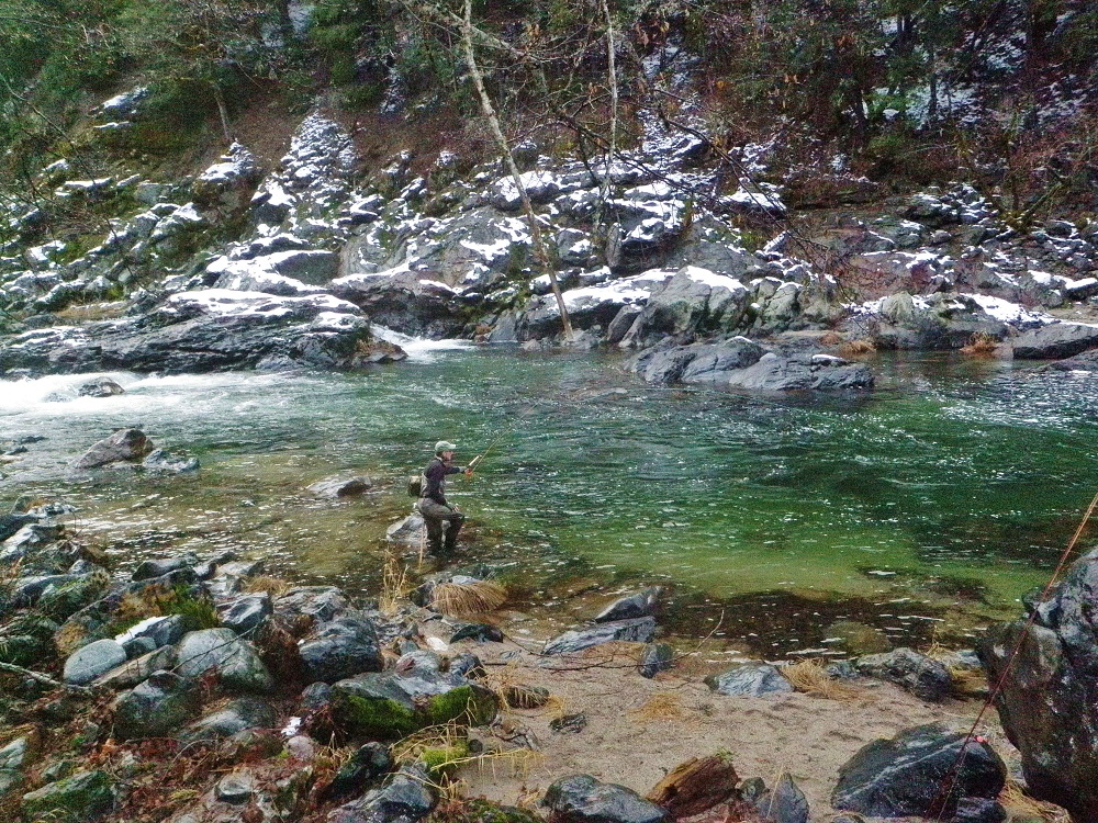 Nor Cal Winter Steelhead Fishing