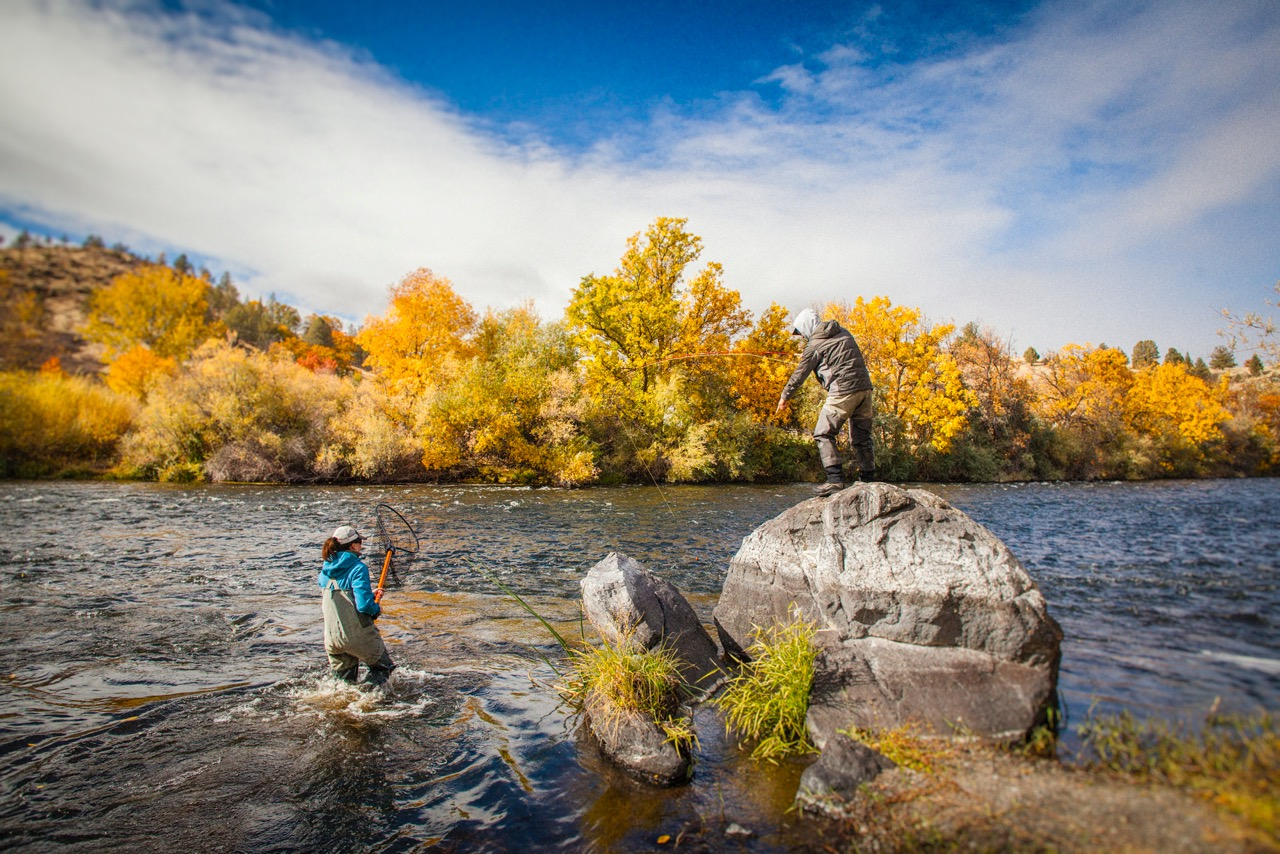 We go the extra mile for Steelhead                  Photo by Carl Mogerly