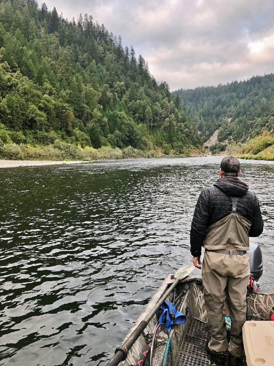 Scouting The Klamath Photo by Chuck Volckhausen