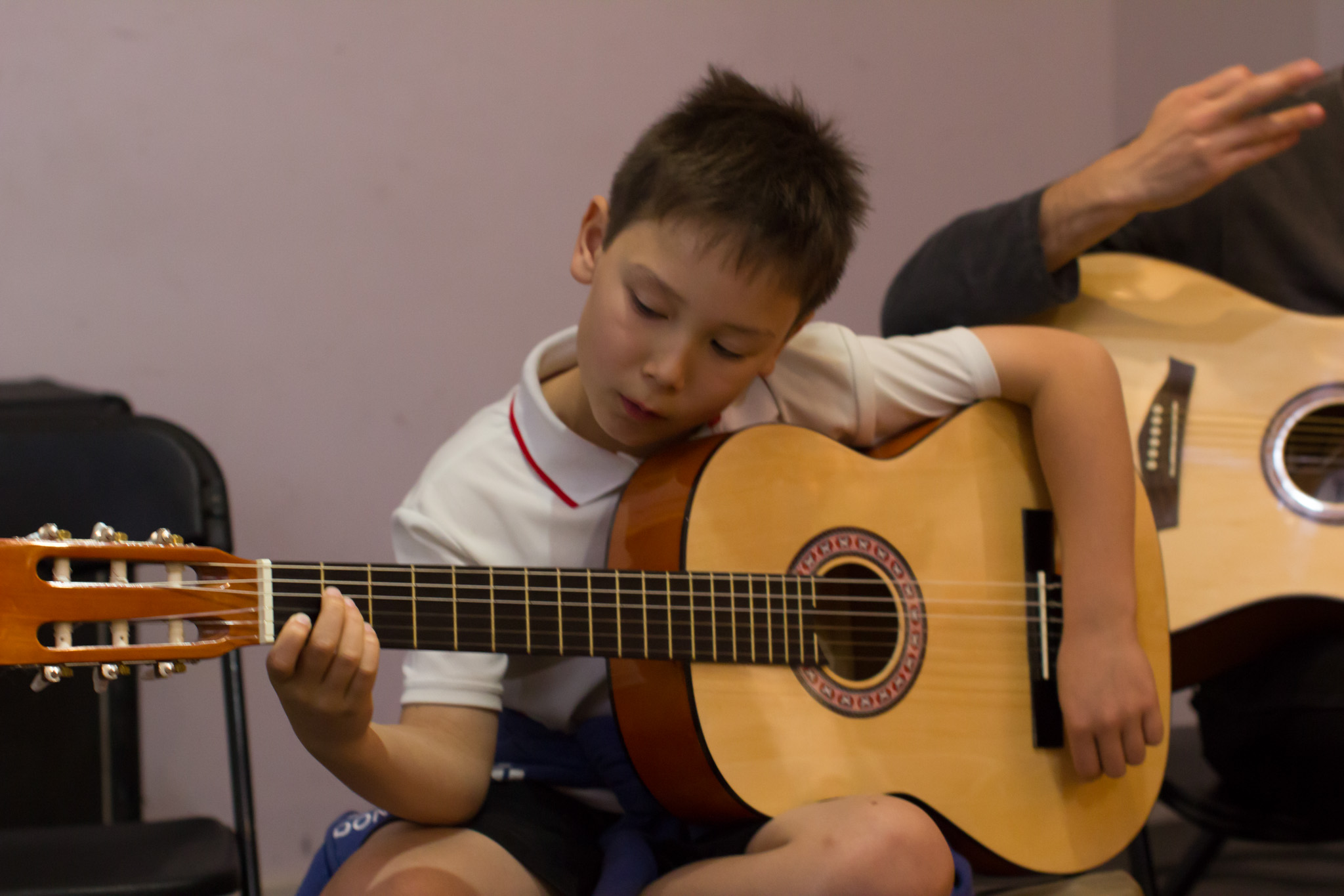 Guitar student Aiden playing It's A Long Way To The Top by AC/DC