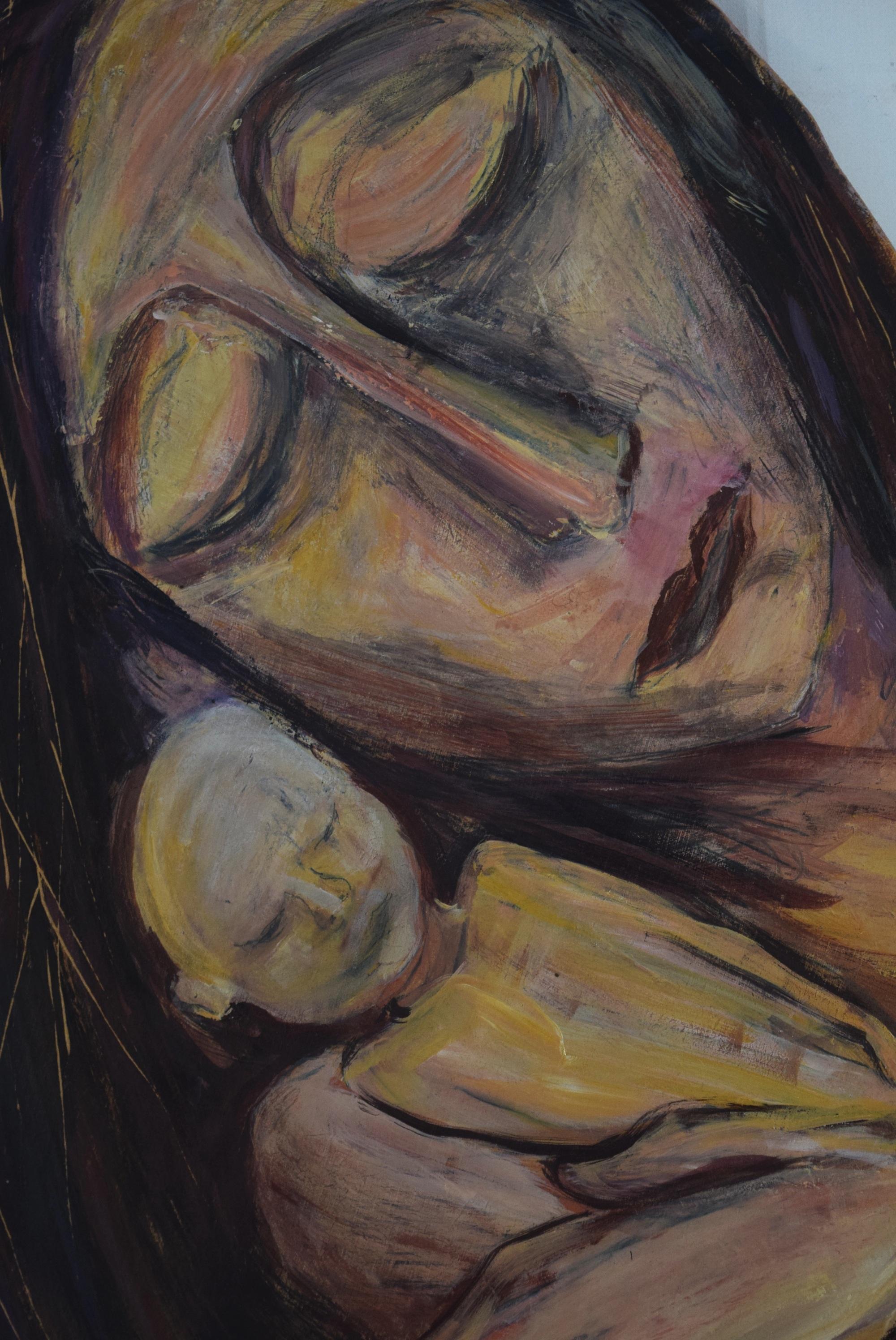 detail geboorte scene