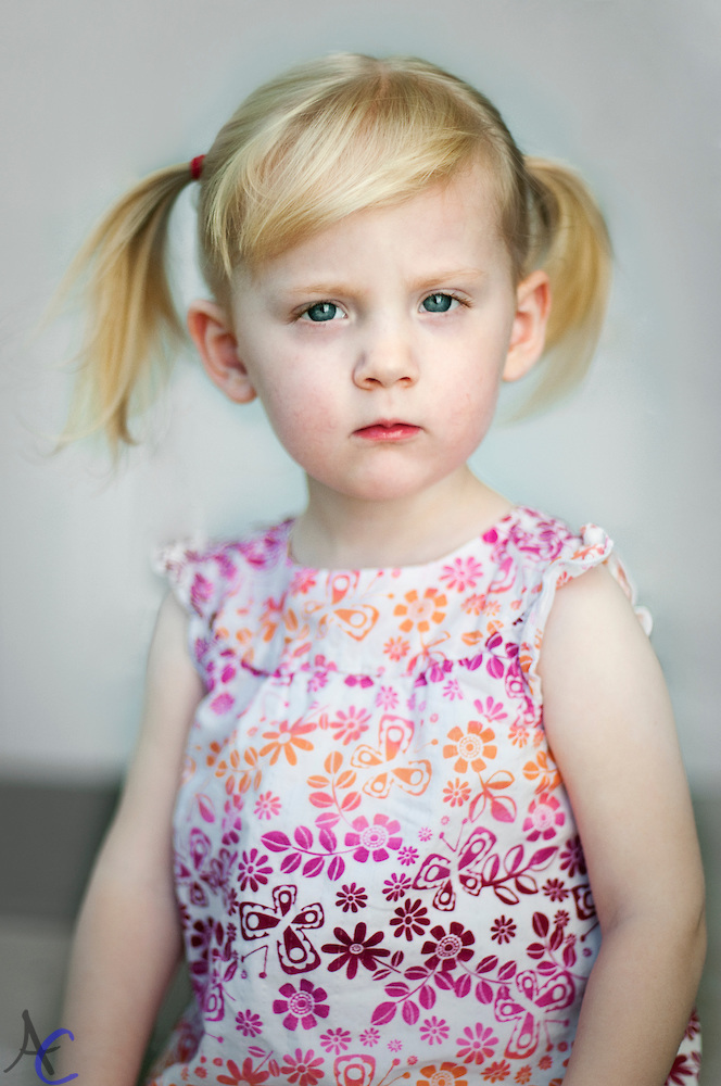 Two Year old portrait