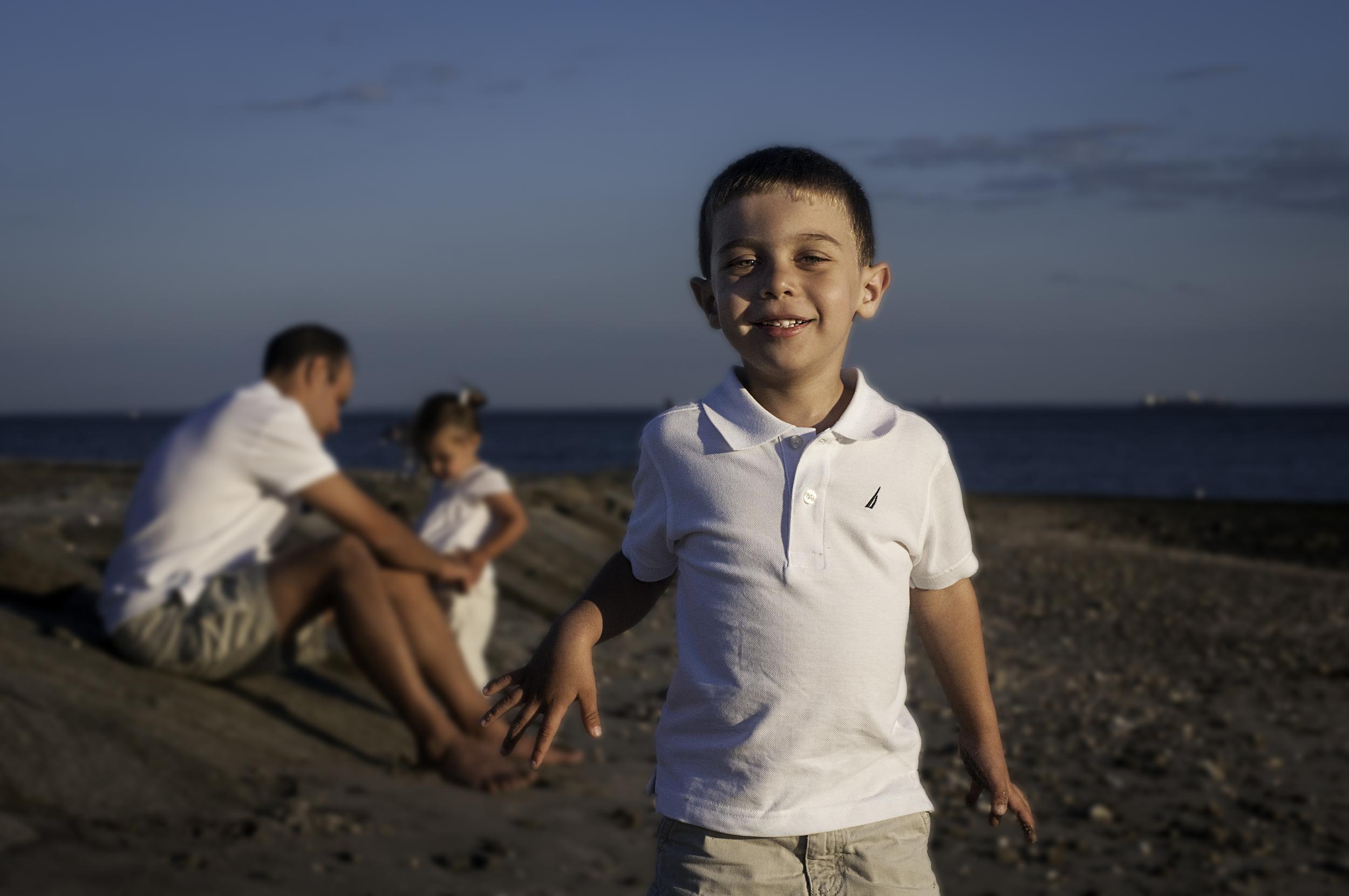 Family photography at Fairfield Beach, Fairfield, Connecticut