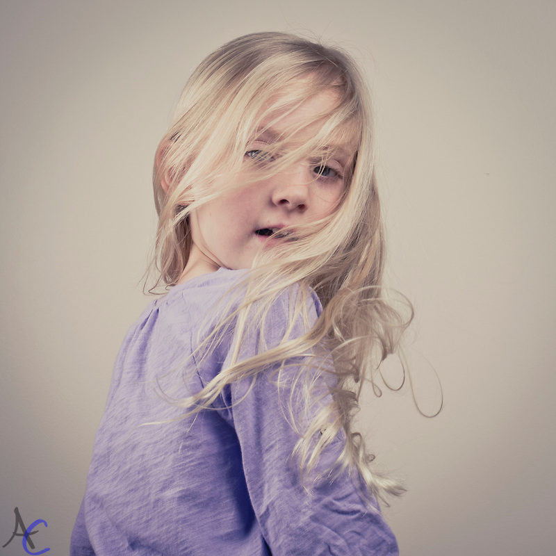 Studio Child Portrait
