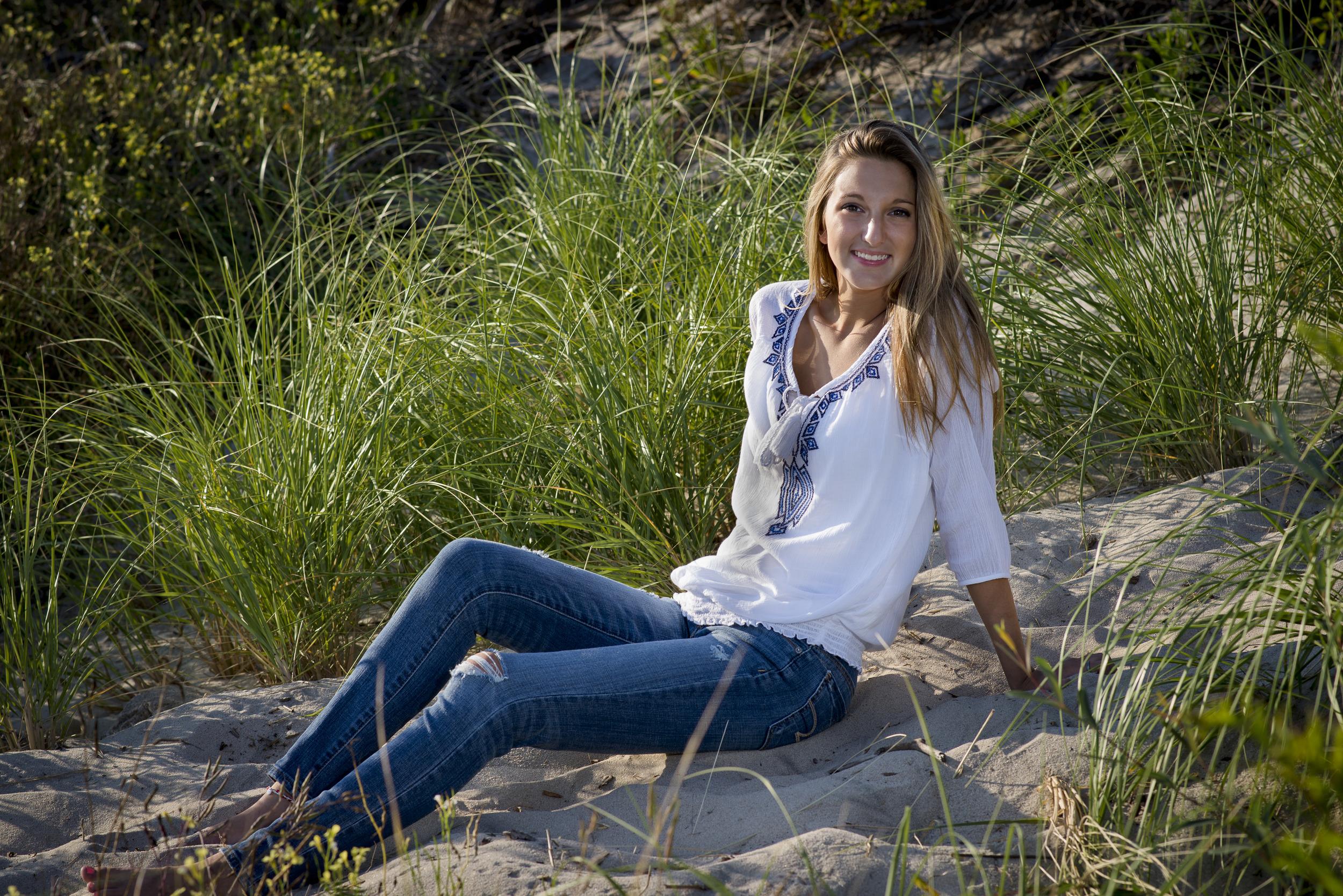 Senior Portrait, Dunes