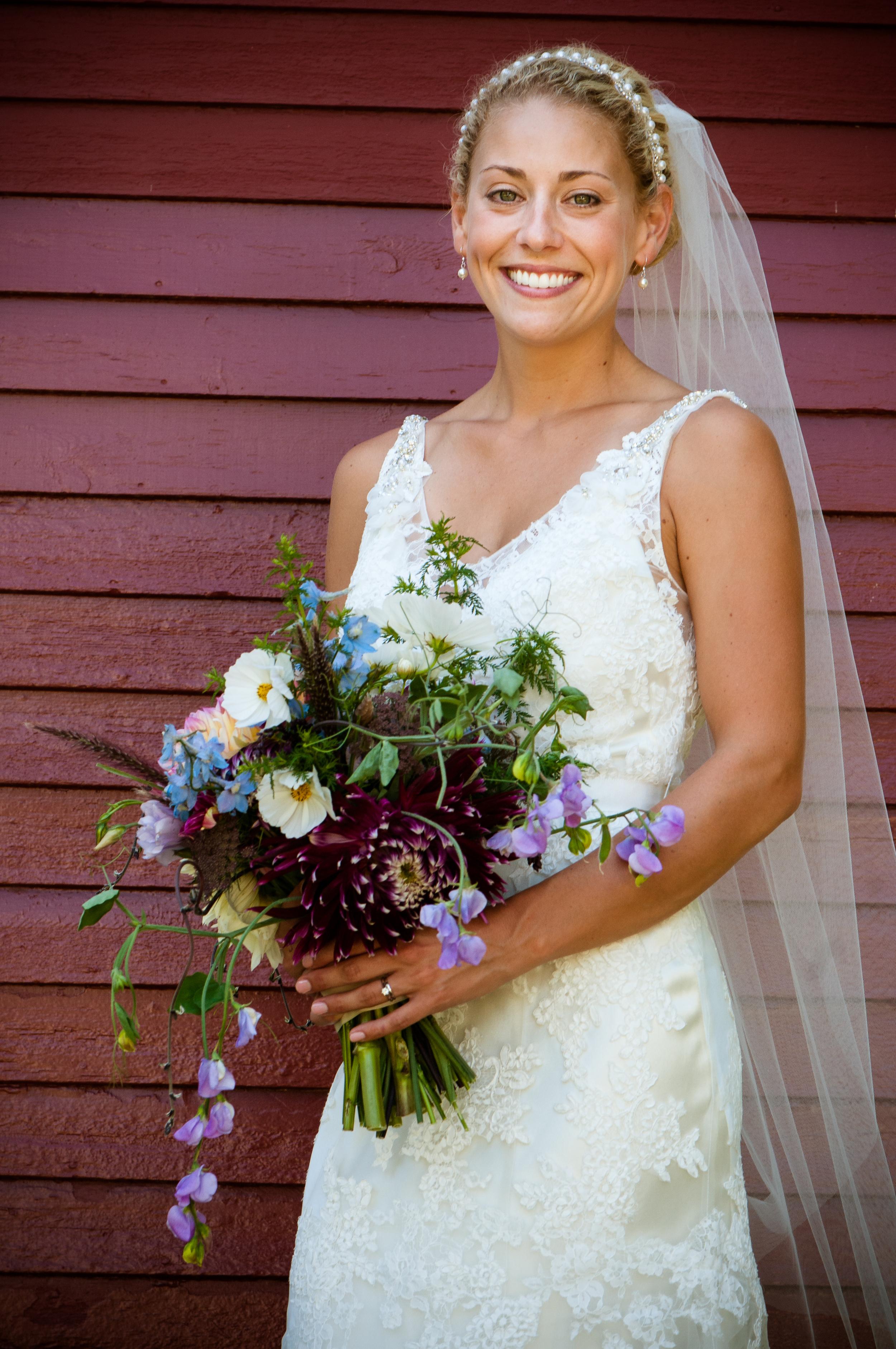 Maine Bridal Portrait