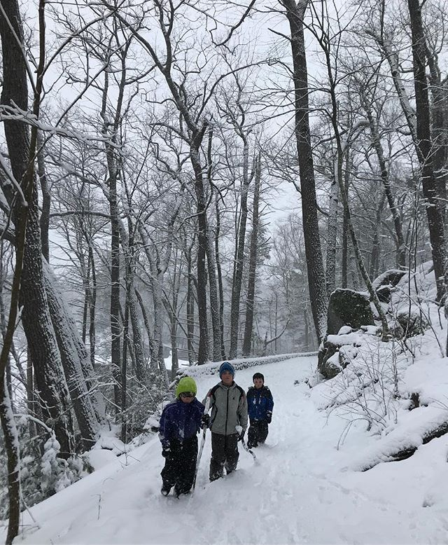 Another #snowday in #connecticut.  Made the best of it with a #hike at #casemountain.