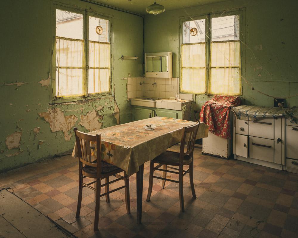 Lieux abandonnés - Beauce - la maison de Daniel - cuisine