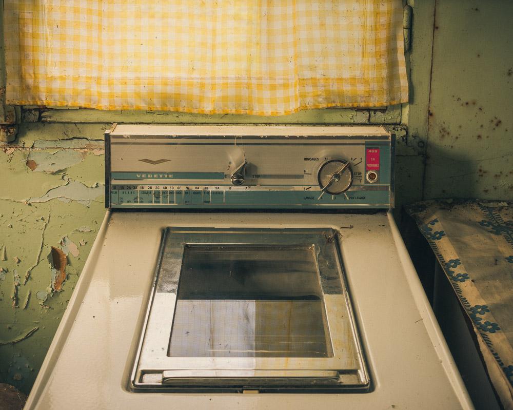 Lieux abandonnés - la maison de Daniel - la machine à laver Vedette