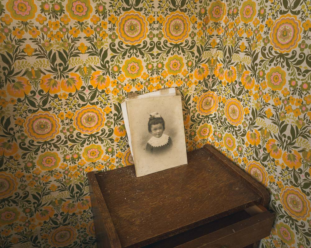 Lieux abandonnés - la maison de Daniel - portrait