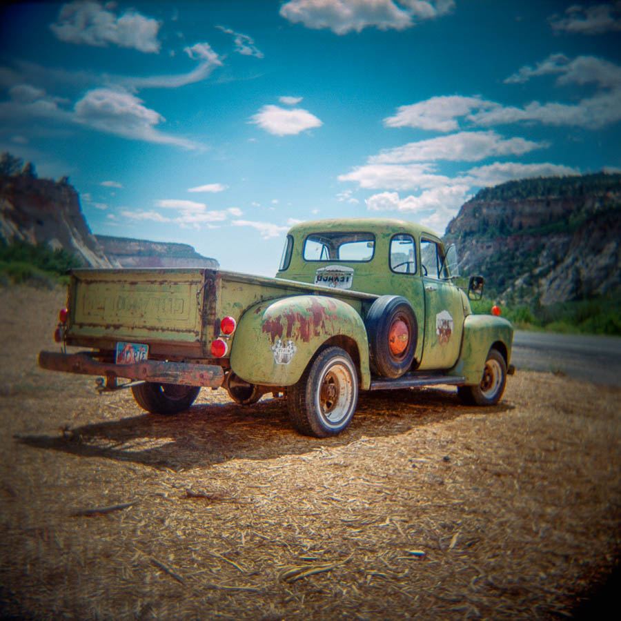 Texaco Pick-up - Zion National Park