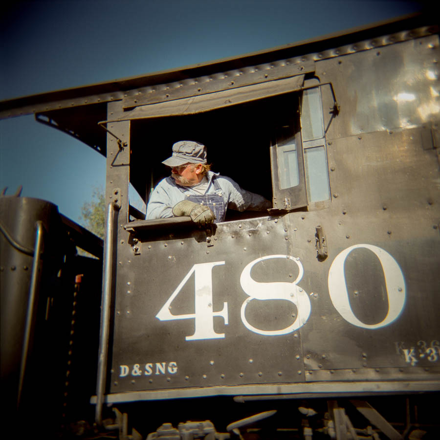 480 Steam locomotive - Durango-Silverton