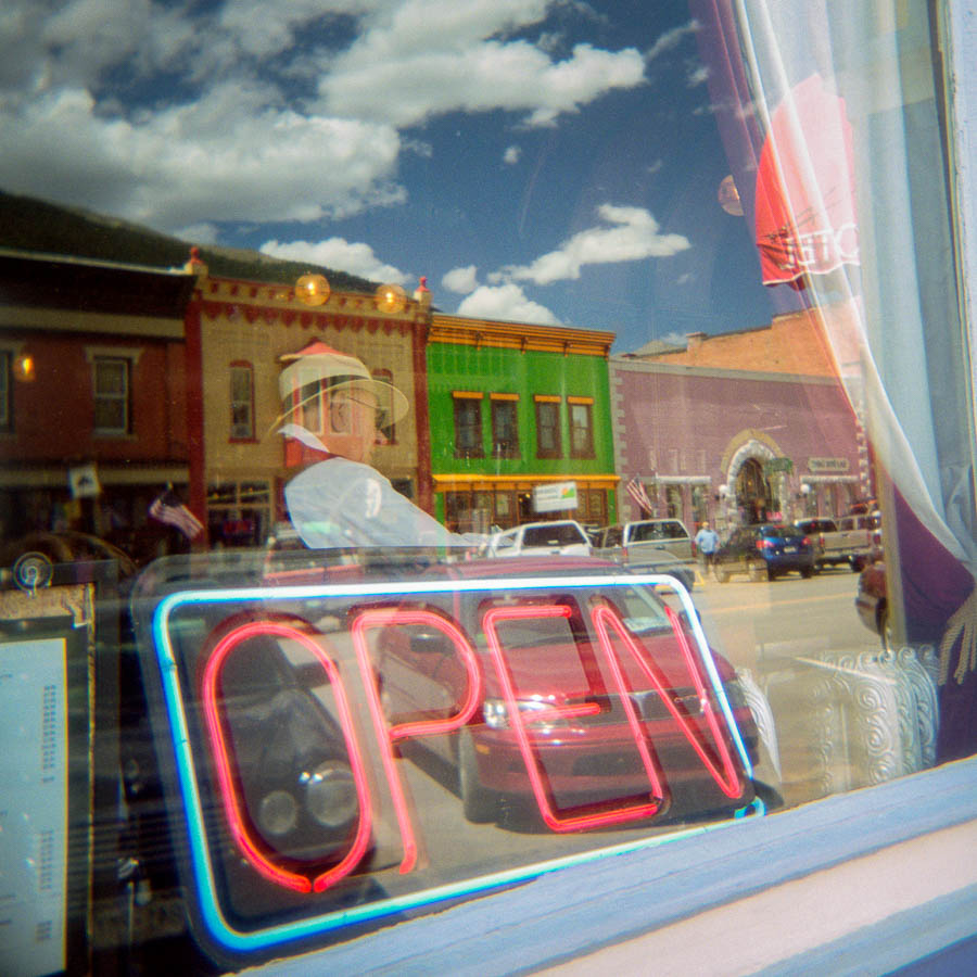 Open restaurant Silverton